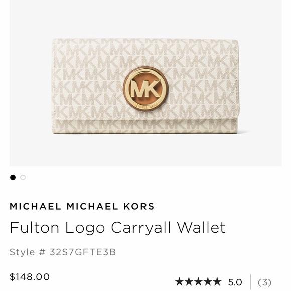 71c4b94a371c MICHAEL Michael Kors Bags | Mk Fulton Logo Carryall Wallet | Poshmark